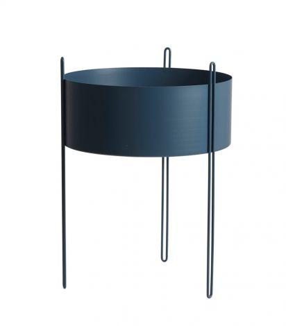 Woud Pidestall Blå Stor