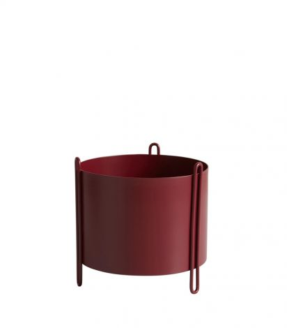 Woud Pidestall Rød Liten