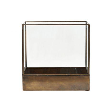 House Doctor Displaybox / Lanterne Plant Sort H30