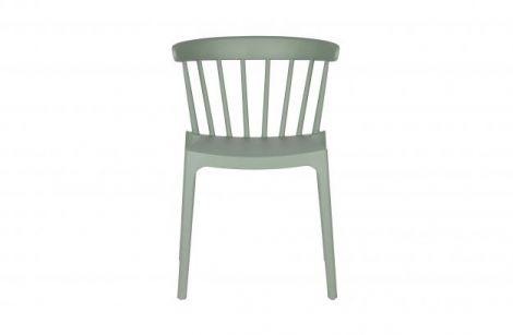 WOOOD Bliss bars chair plastic jade green 2 stk