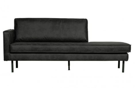 BePureHome Rodeo Daybed Skinn Sort