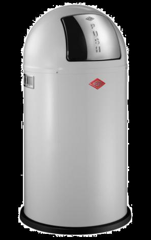 Wesco Pushboy Avfallsbøtte Hvit - 50 liter