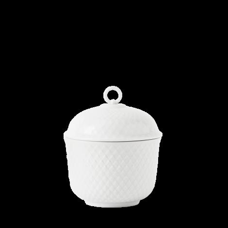 Lyngby Rhombe sockerskål Ø8,5 cm