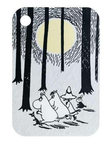 Mumin Skärbräda – I skogen