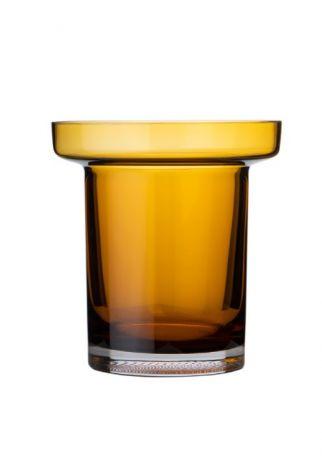 Kosta Boda Limelight Vase Amber 19,5cm
