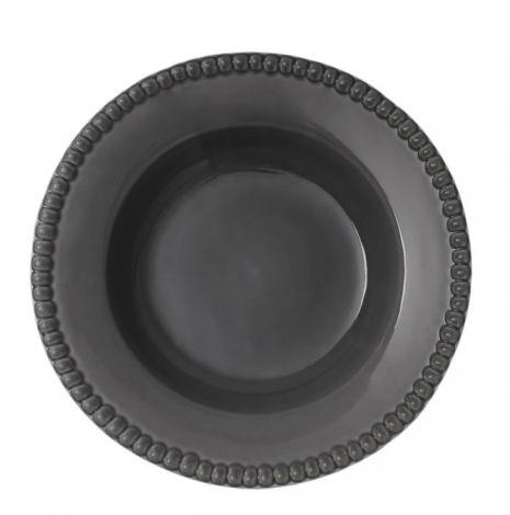 PotteryJo Daria Stengods Djup Tallrik Clean Grey 26cm 2 st