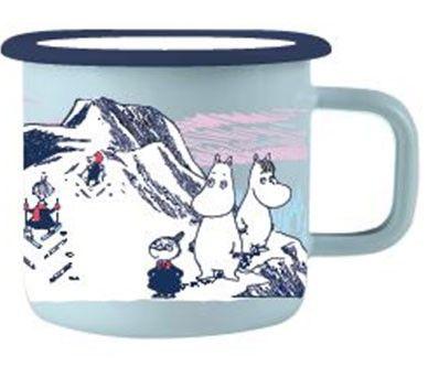 Muminkopp emalj – Mumin i Norge, vinter (3,7 dl)