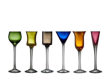 Lyngby Glass Snapsglass Lyngby p/stet 6 ass.
