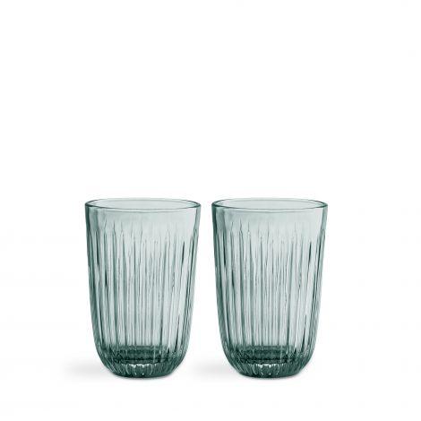 Kähler Hammershøi glass 40 cl 2stk grønn