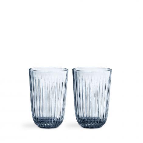 Kähler Hammershøi glass 40 cl 2stk indigo
