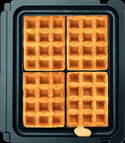 Sage No-Mess Waffle Plates för The BBQ & Press Grill