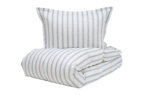 Borås Cotton nano sängkläder set blå flera storlekar