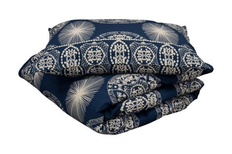Staalnacke Maya sängkläder 140x200 mörkblå