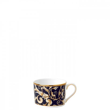Wedgwood Cornucopia Teacup Low Imperial Blue Accent