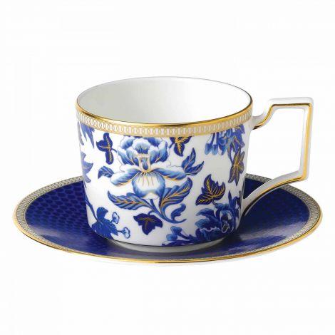 Wedgwood Hibiscus Teacup & Saucer 22 cl