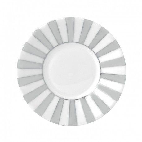Jasper Conran Platinum skål för randig tekopp