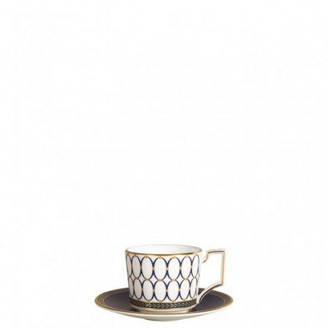 Wedgwood Renaissance Gold Espresso Cup & Saucer