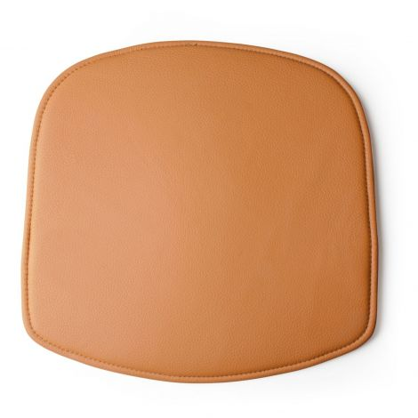 Design House Stockholm Wick Chair Cushion Brown Leather