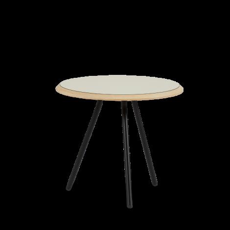 Woud Soround Sidebord Varm Grå Nanolaminat Ø45 H40,5 cm