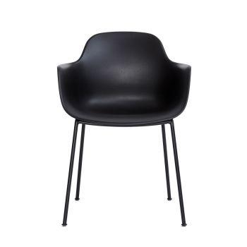 Andersen AC3 stol svart med svart metallram