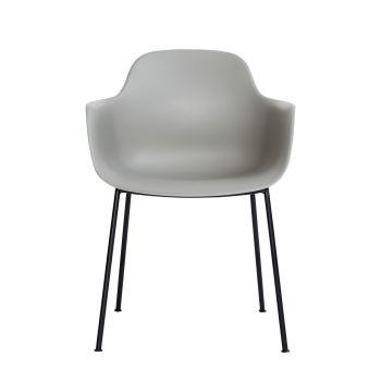 Andersen AC3 stol grå med svart metallram