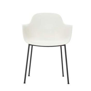 Andersen AC3 stol vit med svart metallram